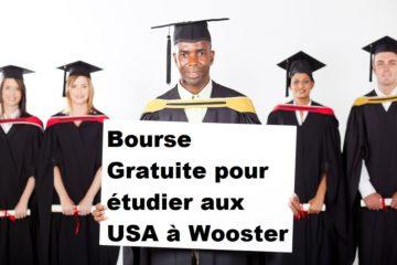 Bourse Gratuite pour étudier aux USA à Wooster